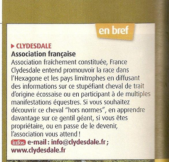 Cheval Magazine Novembre 2010, p58